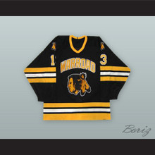 Warroad Warriors Black Hockey Jersey