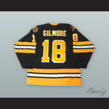 Happy Gilmore 18 Black Hockey Jersey