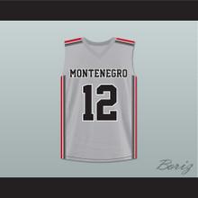 Nikola Mirotic 12 Montenegro Basketball Jersey
