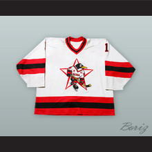 Vitali Yeremeyev 1 Russian Penguins White Hockey Jersey