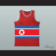 Dennis Rodman North Korea Basketball Jersey