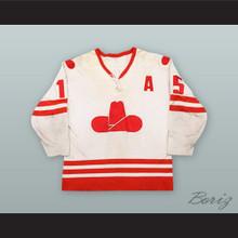 Butch Deadmarsh 15 Calgary Cowboys White Hockey Jersey