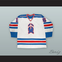 Scott Gruhl 16 New Haven Nighthawks White Hockey Jersey