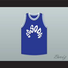 Da Brat 21 Sosodef Blue Basketball Jersey