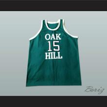 Carmelo Anthony 15 Oak Hill Academy Basketball Jersey Stitch Sewn