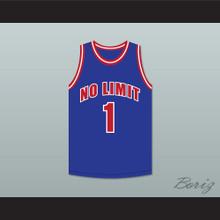 Master P 1 No Limit Blue Basketball Jersey