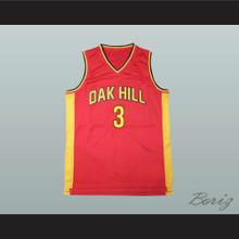 Brandon Jennings Oak Hill Academy Basketball Jersey Stitch Sewn