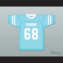 Combate 68 Santa Martha Perros (Dogs) Light Blue Football Jersey The 4th Company