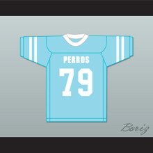 Palafox 79 Santa Martha Perros (Dogs) Light Blue Football Jersey The 4th Company