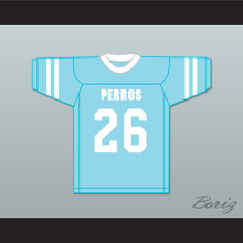 Payaso 26 Santa Martha Perros (Dogs) Light Blue Football Jersey The 4th Company
