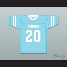 Perrito 20 Santa Martha Perros (Dogs) Light Blue Football Jersey The 4th Company