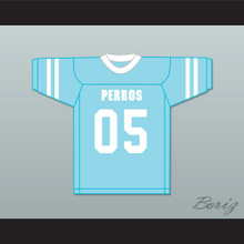 Quinto 05 Santa Martha Perros (Dogs) Light Blue Football Jersey The 4th Company