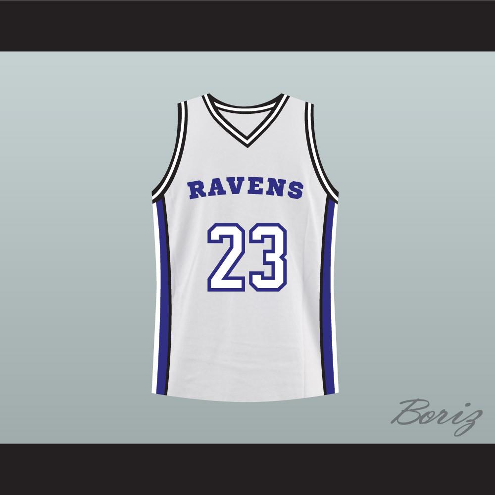 ravens basketball jersey