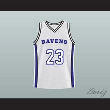 Nathan Scott 23 One Tree Hill Ravens White Original Pilot Basketball Jersey