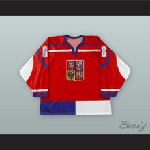 Jaromir Jagr 68 Czech Repbulic National Team Red Hockey Jersey