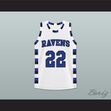 Lucas Scott 22 One Tree Hill Ravens Basketball Jersey