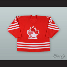 David Harlock 28 Canada National Team Red Hockey Jersey