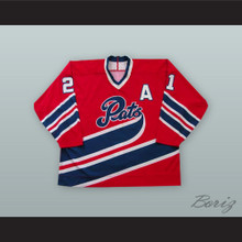Josh Holden 21 Regina Pats Red Hockey Jersey