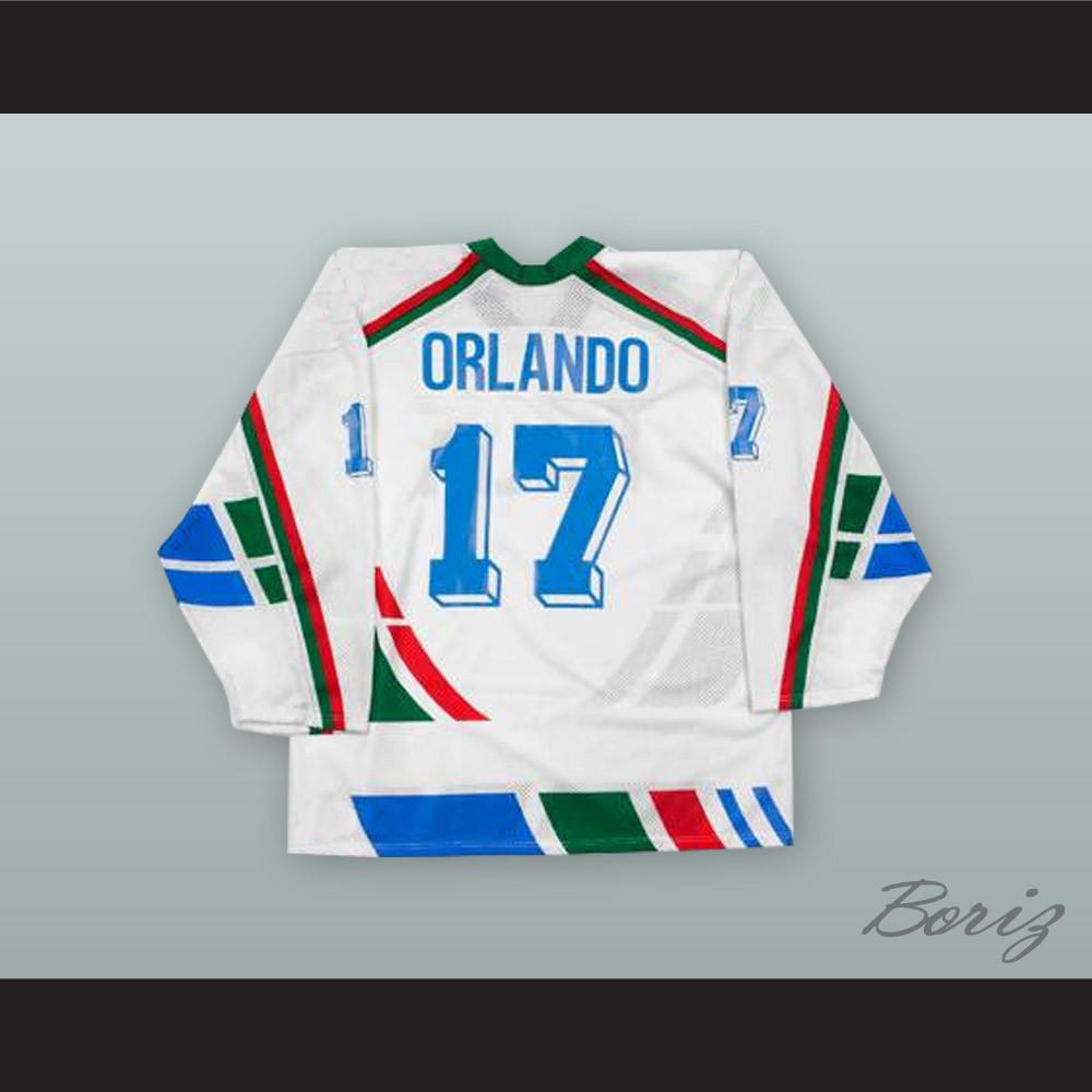 720d6efa1 Gates Orlando 17 Italy National Team White Hockey Jersey