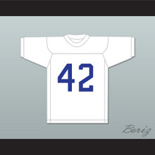Freddie Steinmark 42 Wheat Ridge High School White Football Jersey My All American
