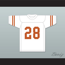 Freddie Steinmark 28 Texas Longhorns White Football Jersey My All American