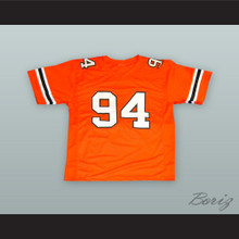 Dwayne 'The Rock' Johnson 94 College Career Orange Football Jersey
