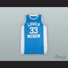 Kobe Bryant 33 Lower Merion High School Light Blue Basketball Jersey