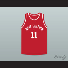 Ronnie DeVoe 11 New Edition Red Basketball Jersey