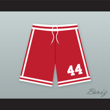 Bobby Brown 44 New Edition Red Basketball Shorts