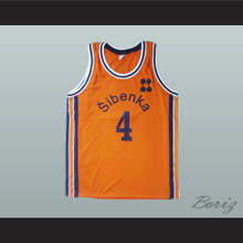 Drazen Petrovic Retro European Basketball Jersey