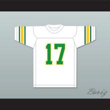 Khalid 17 White Football Jersey