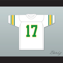 Khalid Southerner 17 White Football Jersey