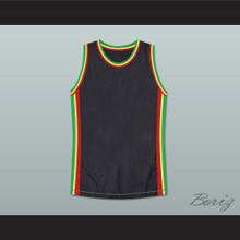 Rasta Style Jamaica Basketball Jersey Stitch Sewn New