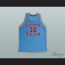 Karl Malone 32 Louisiana Tech Basketball Jersey