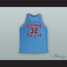 Karl Malone 32 Louisiana Tech Basketball Jersey