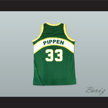 Scottie Pippen 33 1987 Draft Team Basketball Jersey