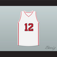 Drake 12 White Basketball Jersey High School Musical Skit MADtv
