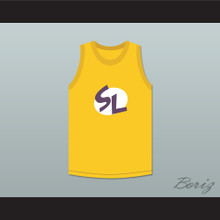 Shaquille O'Neal 34 Super Lakers Basketball Jersey Shaq and the Super Lakers Skit MADtv