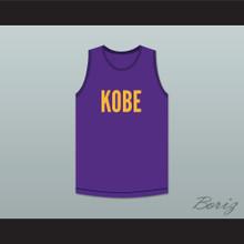 Kobe Bryant 8 Purple Basketball Jersey Kobe Bryant Expedia Skit MADtv