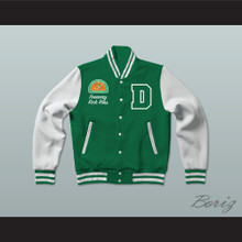 Freeway Rick Ross Susan Miller Dorsey High School Dons Tennis Varsity Letterman Jacket-Style Sweatshirt