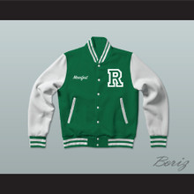 Manifest School of Results Green Varsity Letterman Jacket-Style Sweatshirt