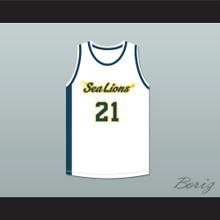 Evan Whitbourne 21 Malibu Vista Sea Lions Basketball Jersey Bring It On: Fight to the Finish