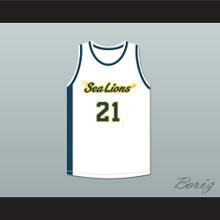 Evan Whitbourne 21 Malibu Vista High School Sea Lions Basketball Jersey Bring It On: Fight to the Finish