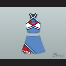The East-West Coast Shets Cheerleader Uniform Bring It On: In It to Win It Design 4