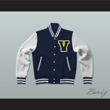 Vista Valley High School Cougars Varsity Letterman Jacket-Style Sweatshirt #Realityhigh