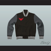 Batwoman Gotham Knights High School Varsity Letterman Jacket-Style Sweatshirt