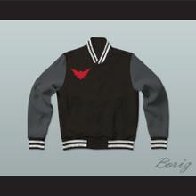 Batwoman Gotham Knights High School Varsity Letterman Jacket-Style Sweatshirt