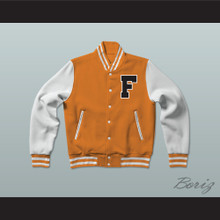 Gerald R. Ford High School Tigers Varsity Letterman Jacket-Style Sweatshirt Fired Up!