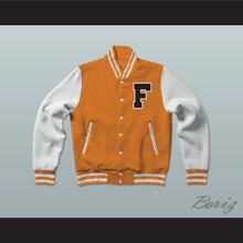 Gerald R. Ford High School Tigers Varsity Letterman Jacket-Style Sweatshirt Fired Up!