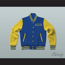 Alpha Epsilon Pi Fraternity Varsity Letterman Jacket-Style Sweatshirt